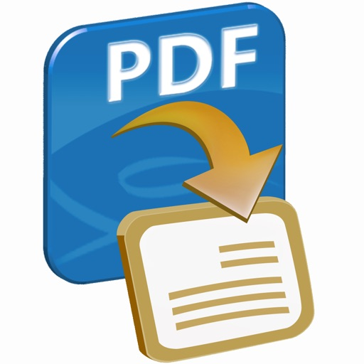 Aadhi PDF to Word Converter icon