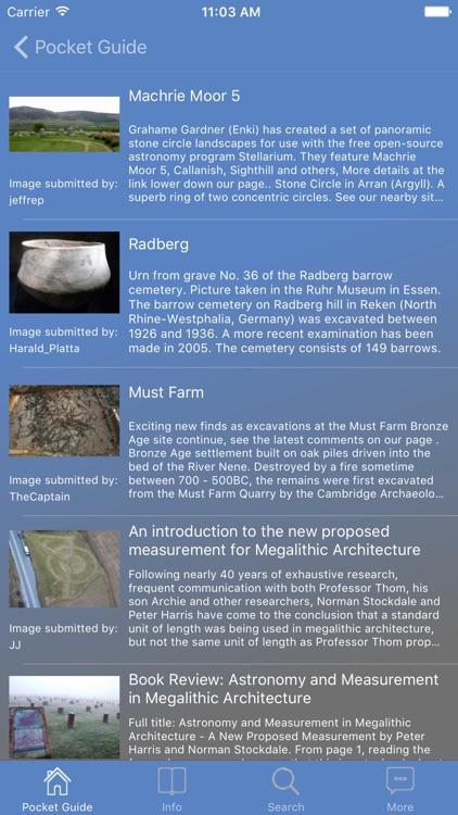 Pocket Guide Megaliths screenshot-3