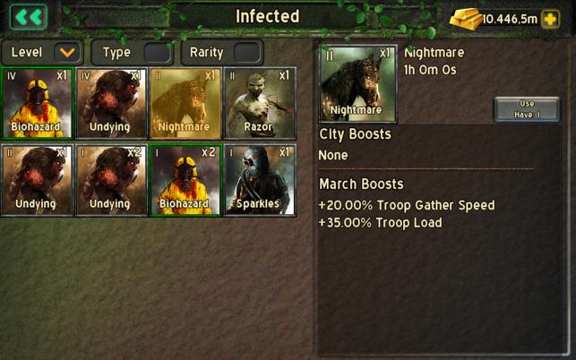 Empire Z: Endless War Screenshot