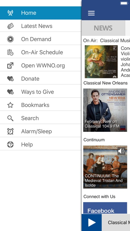 WWNO Public Radio App screenshot-2