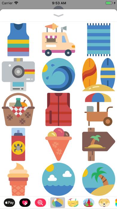 点击获取Awesome Summer Time Stickers