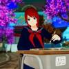 アニメ 高い 学校- 女の子 ゲームアイコン