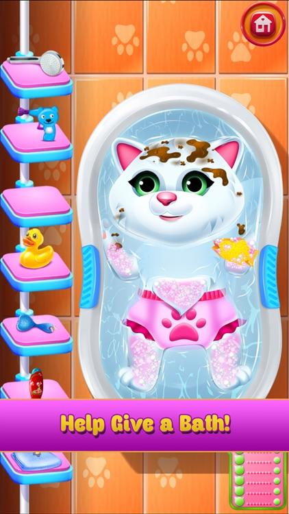 New Baby Pet Kitten Cat Games screenshot-3