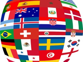 Top 32 World Soccer Flags