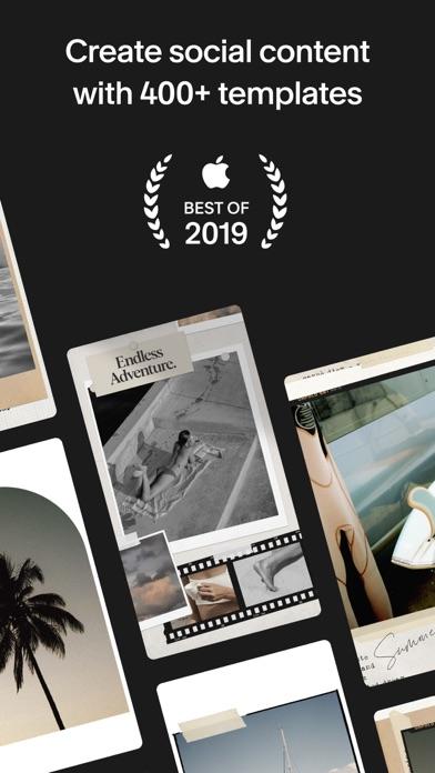 Unfold — Story Maker & Collage Screenshot