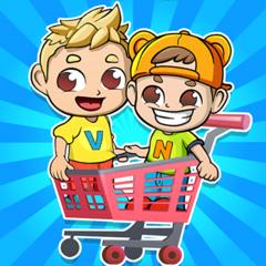 Vlad and Niki Supermarket game