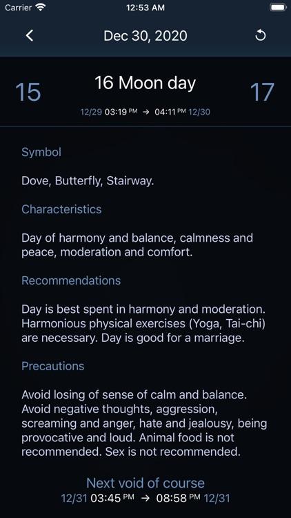 Deluxe Moon Pro • App & Widget screenshot-7