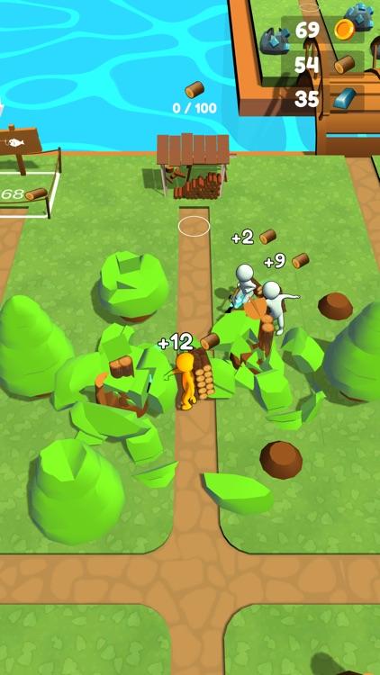 Buildy Island 3d: Chop & Craft screenshot-6