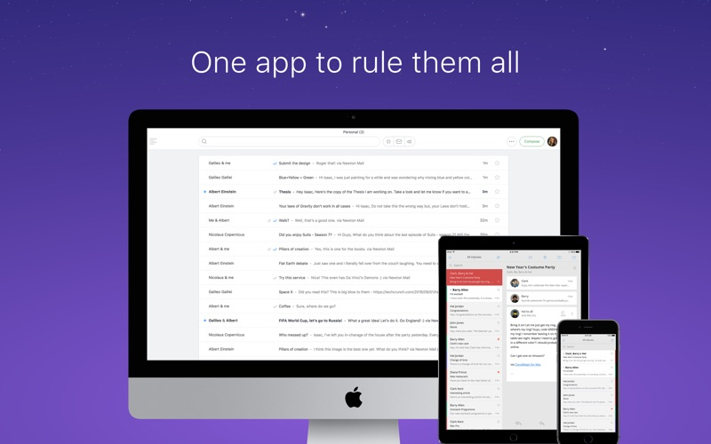 Newton 邮件(原名 CloudMagic 电子邮件) for Mac