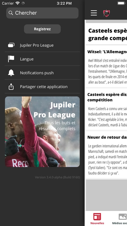 Jupiler Pro League + Belgium screenshot-5