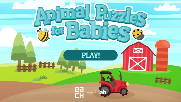 Animal Puzzles for Babies