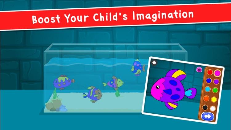 Kidlo Coloring Book For Kids screenshot-9