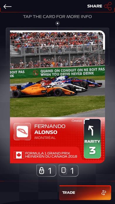 Screenshot 5 F1 Trading Card Game 2018