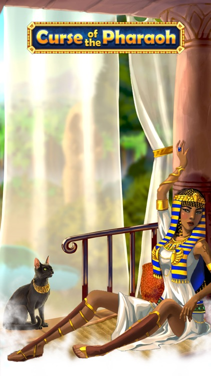 Curse of the Pharaoh - Match 3 screenshot-4