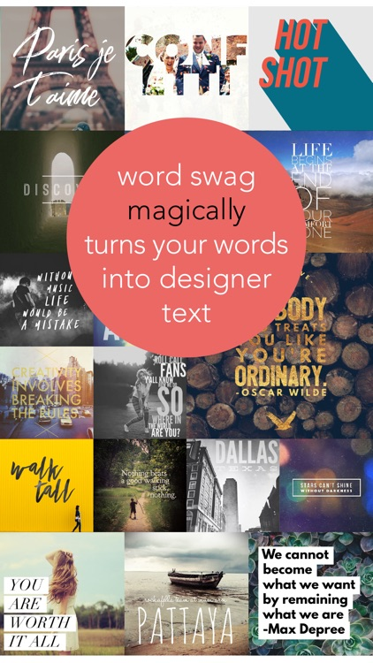 Word Swag - Cool Fonts screenshot-0