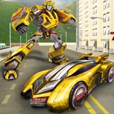 Activities of Robot Action Transforming Hero