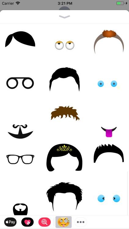 Emoji Maker Stickers FunnyMoji screenshot-3