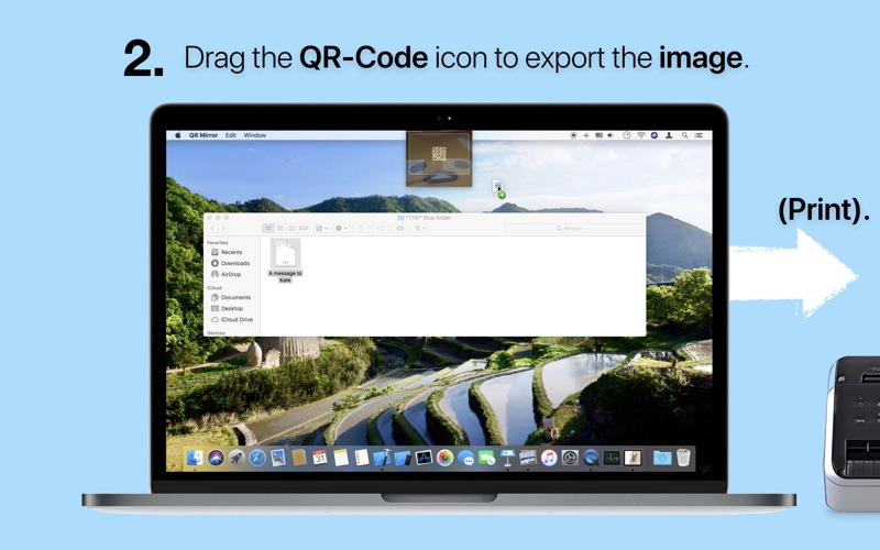 QR Mirror screenshot 2