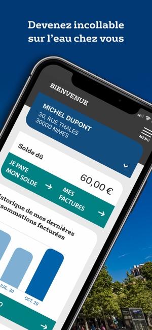 Eau de Nîmes Métropole dans l'App Store