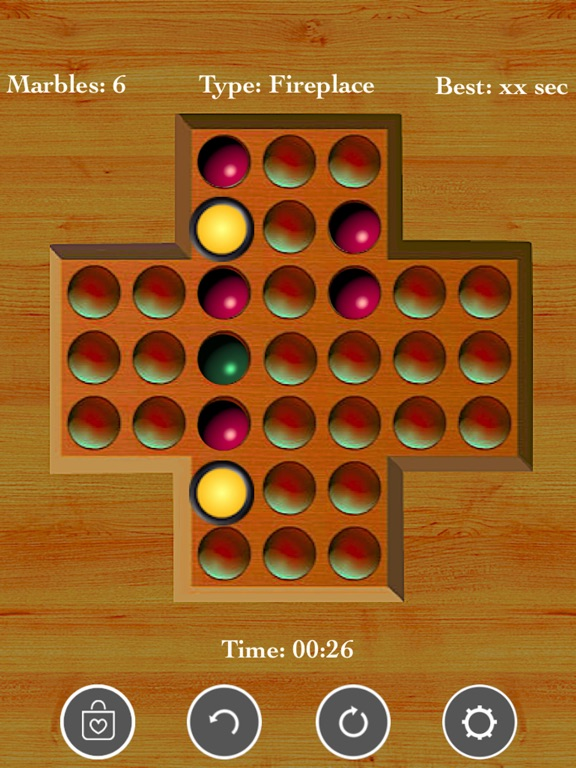 Brainvita Peg Solitaire <--> screenshot 10