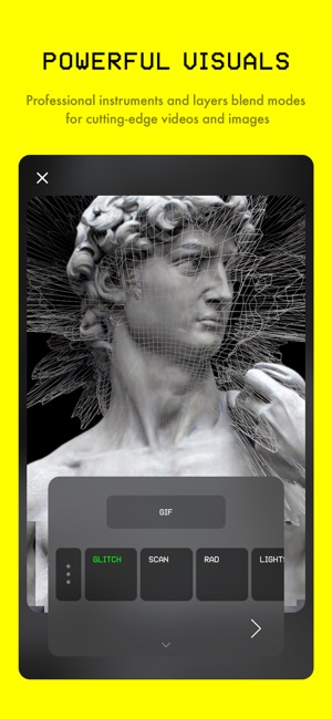 Glitché Photo Video Editor On The App Store