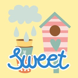 Gardening Sweet Home Stickers