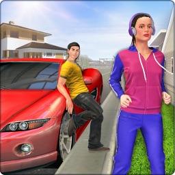 Virtual Neighbor Girl Sim