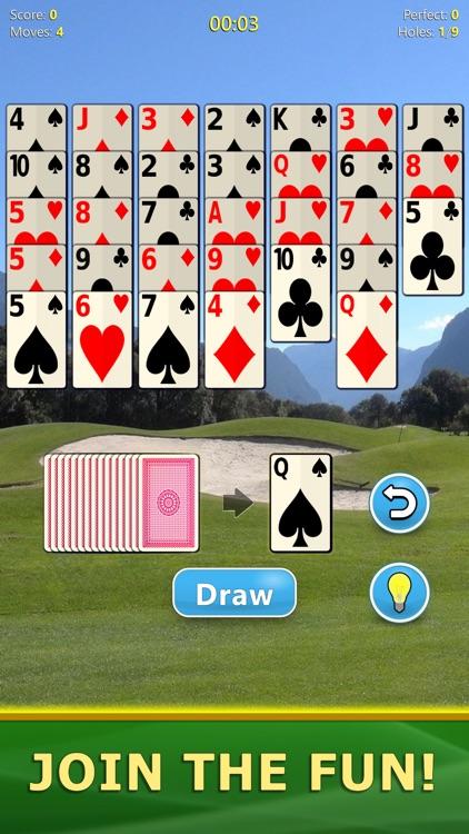 Golf Solitaire - Card Game screenshot-7