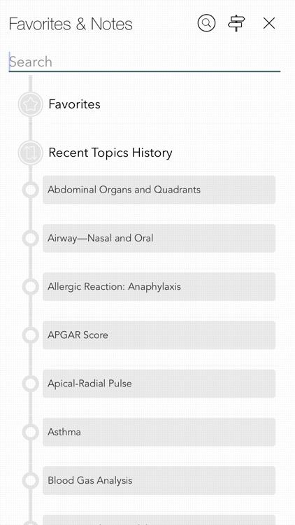 RNotes: Nurse's Pocket Guide screenshot-7