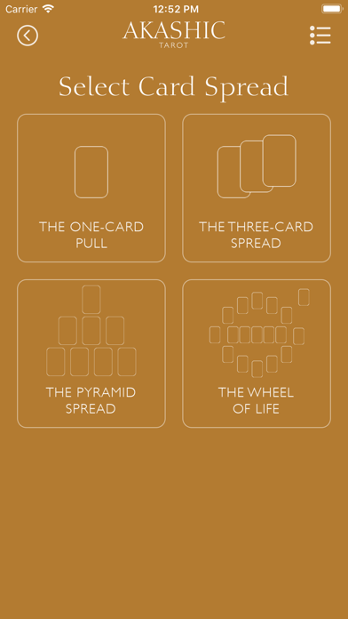 Akashic Tarot screenshot 2