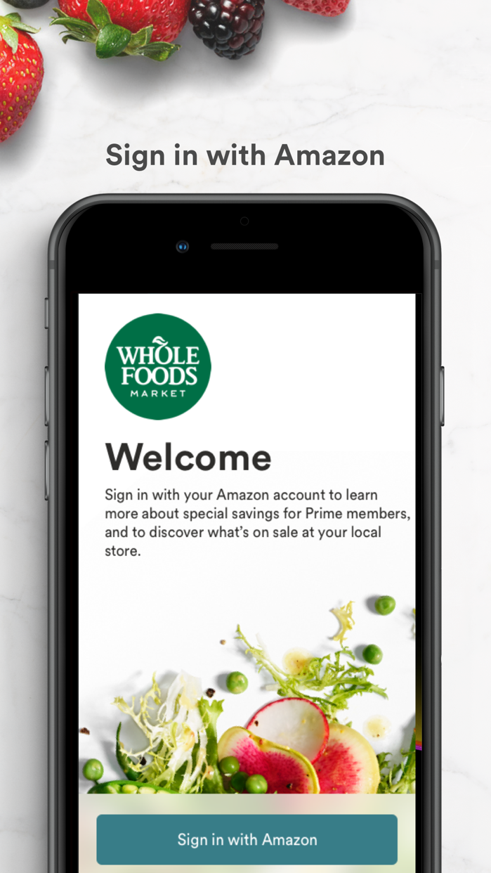 Whole Foods Market Screenshot