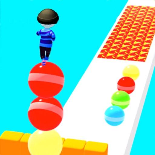 Ball Surfer - Giant Stack Rush