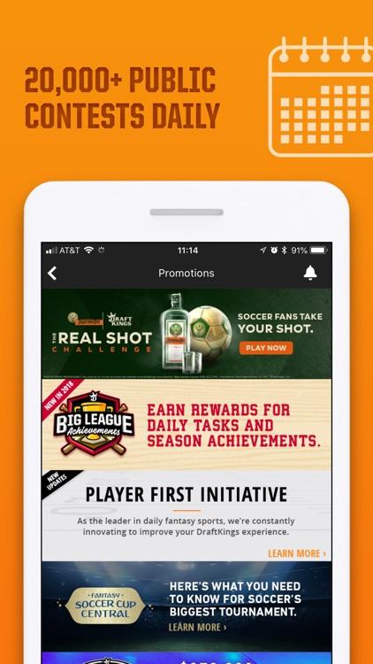 DraftKings - Fantasy Sports screenshot-7