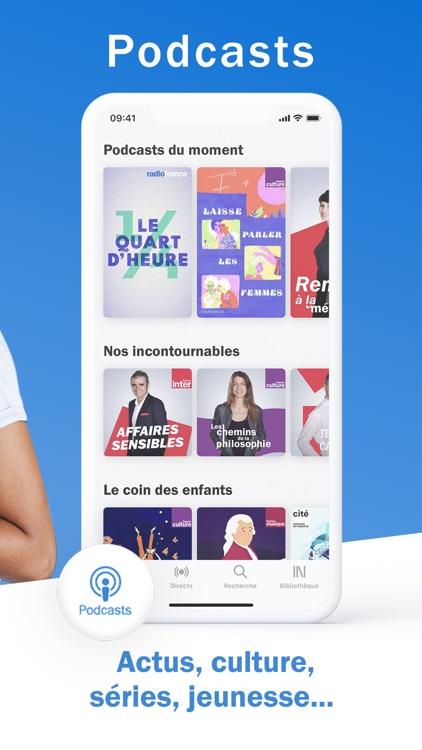 Radio France - radio, podcast