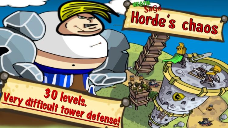 Horde's Chaos - Tower Defense screenshot-0