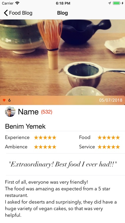 Meal Tray: Restaurant Finder