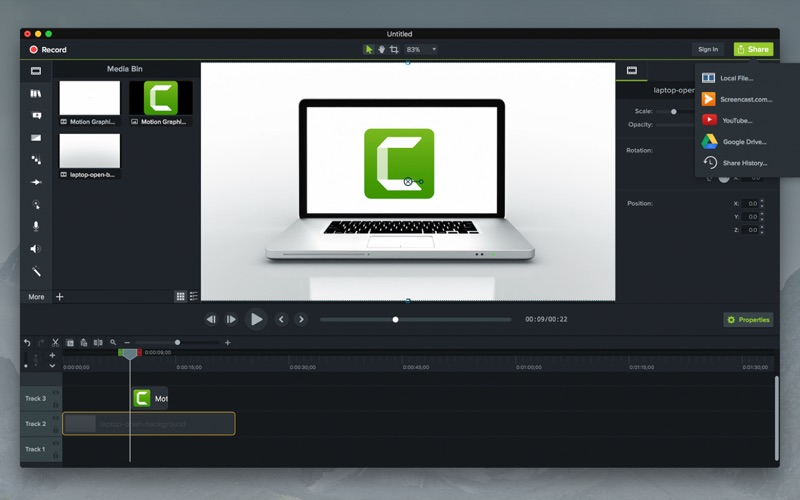 Camtasia 2018 for Mac