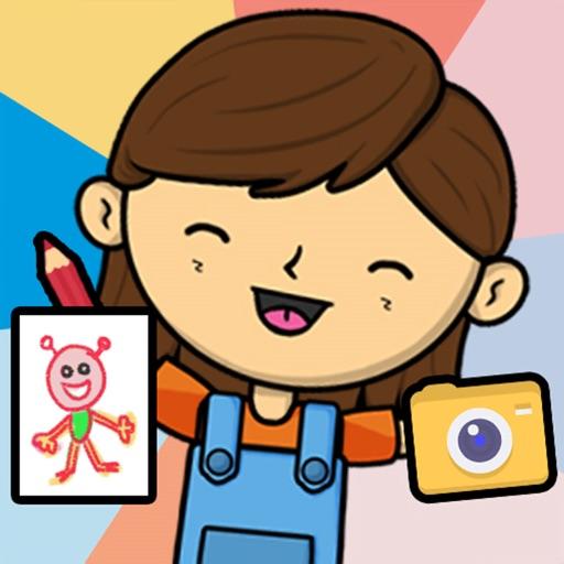 Lila's World:Create Play Learn icon