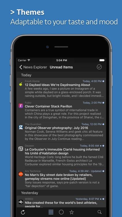 News Explorer screenshot-3