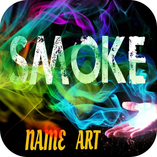 Smoke Effect Name Art