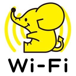 WiFi ギガぞうWi-Fi 安心安全にパケット通信量を節約