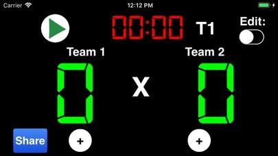 Virtual Scoreboard review screenshots