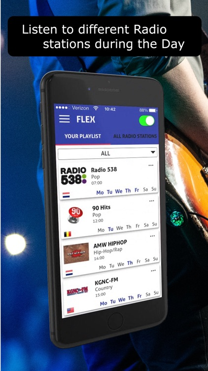 Flex Radio with AutoPlay by Olav Windrich