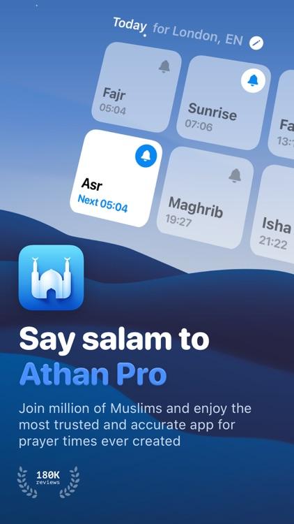 Athan Pro: Quran, Azan, Qibla screenshot-0