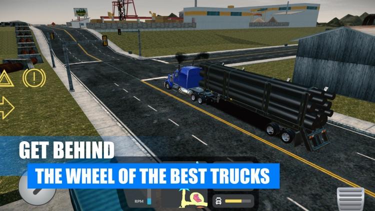 Truck Simulator USA American screenshot-7