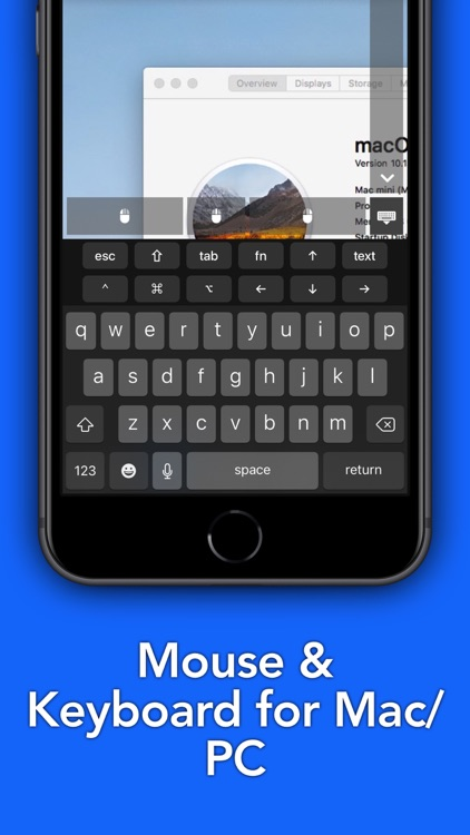 Remote Mouse & Keyboard - PRO screenshot-1