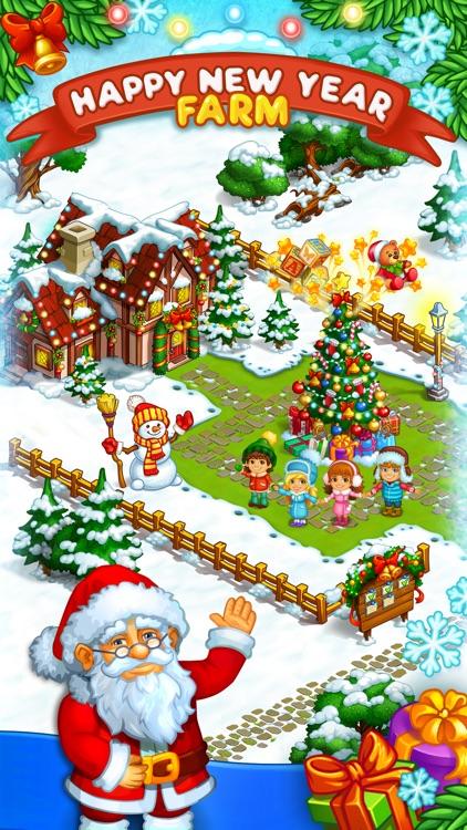 New Year Farm of Santa Claus