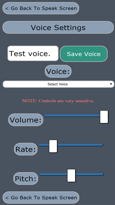 Touch Voice Gold AAC screenshot four