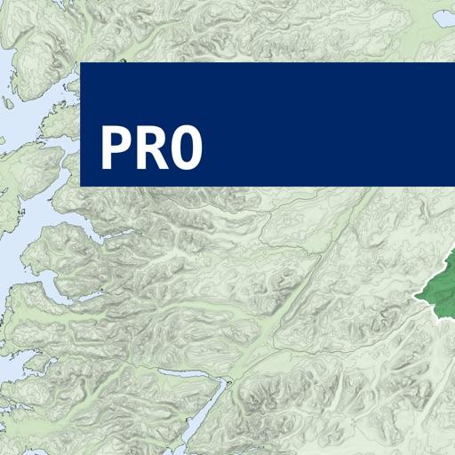 Ben Nevis, W Scotland Map Pro