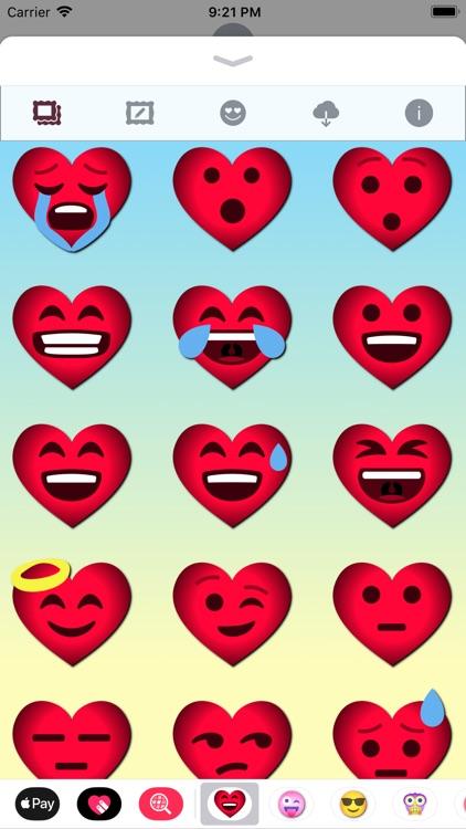 Love Emoji • Stickers screenshot-4